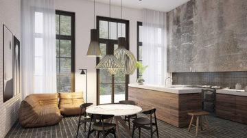 Op een van de mooiste plekken in het centrum van Amsterdam zullen tien exclusieve stads lofts verrijzen. Het voormalige Joods Lyceum, dat tot voorkort nog dienst deed als school, zal binnenkort haar deuren openen voor een aantal gelukkige nieuwe bewoners.