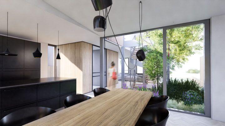 BNLA architecten heeft een ontwerp gemaakt voor een bijzondere villa in IJmuiden. Door creatief om te gaan met de mogelijkheden om uit te bouwen is hier een riante leefruimte gecreëerd die erg verrassend en uniek is!