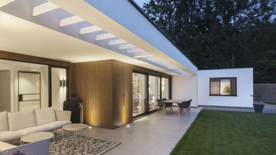 moderne veranda door architect