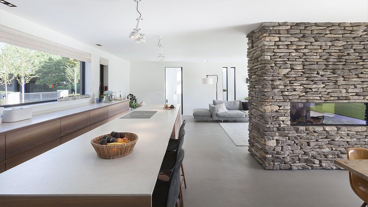 modern keuken door architect