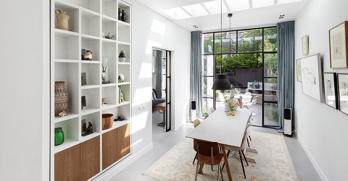 Verbouwing woning Amsterdam door architect