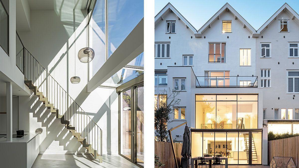 luxe uitbouw dubbel hoog