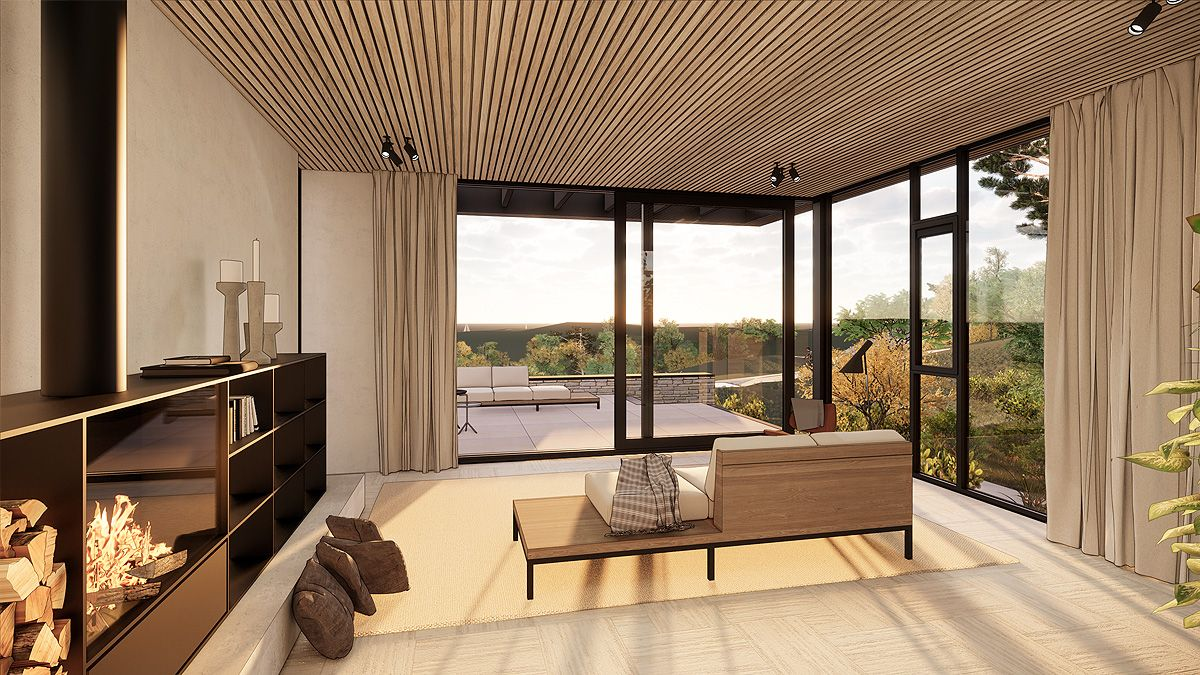 ontwerp strand villa