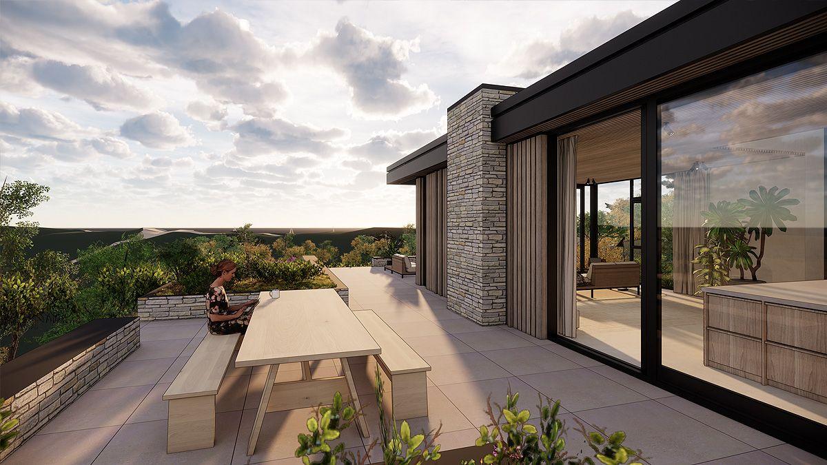 Ontwerp moderne duinvilla door BNLA Architecten