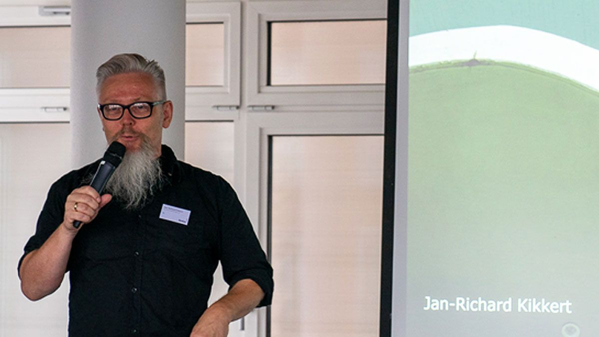 Jan-Richard Kikkert spreekt bij BNLA architecten