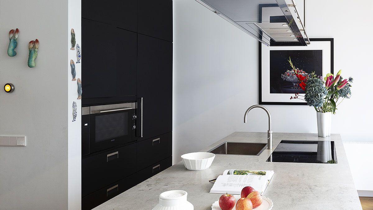 BNLA architecten - verbouwing luxe herenhuis Amsterdam. Voorbeeld keuken.