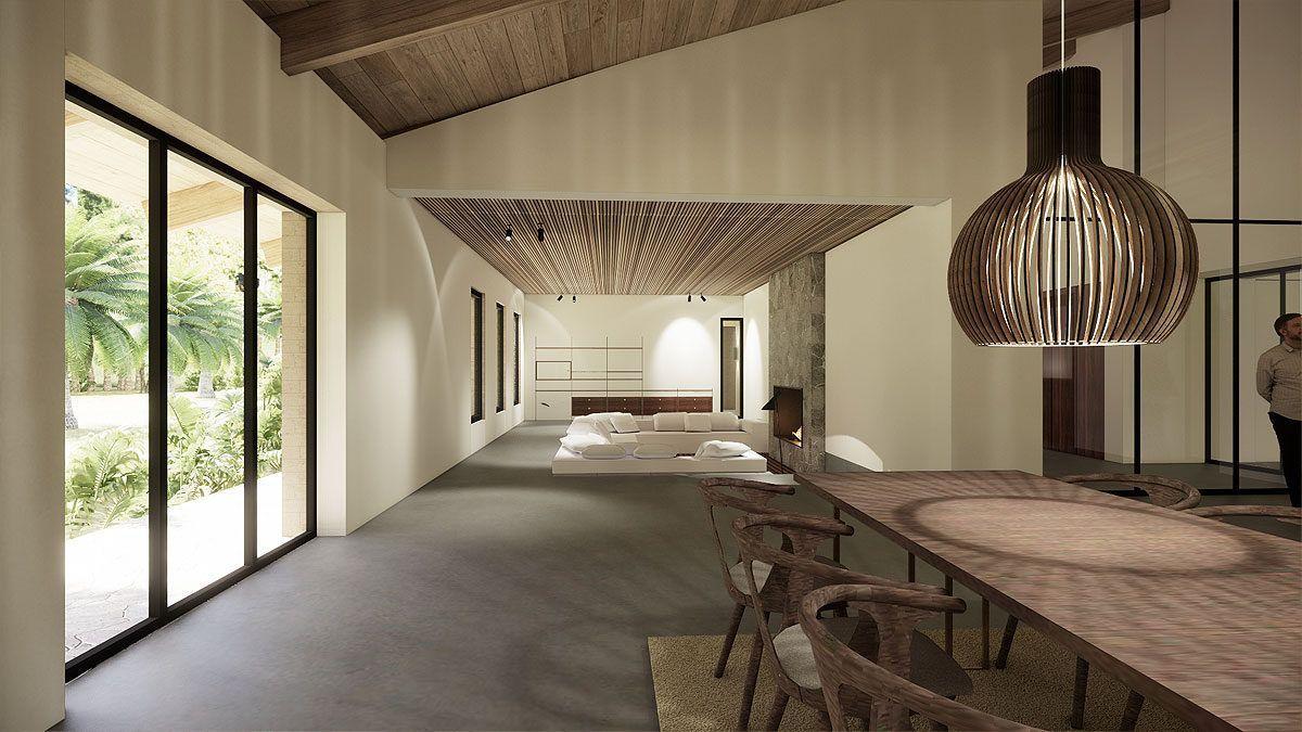 BNLA architecten architectuur nieuwbouw buitenhuis villa