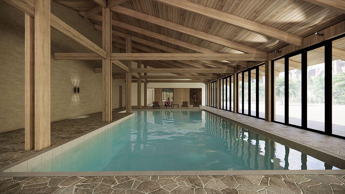 BNLA architecten architectuur vakantiehuis buitenland bescheiden luxe