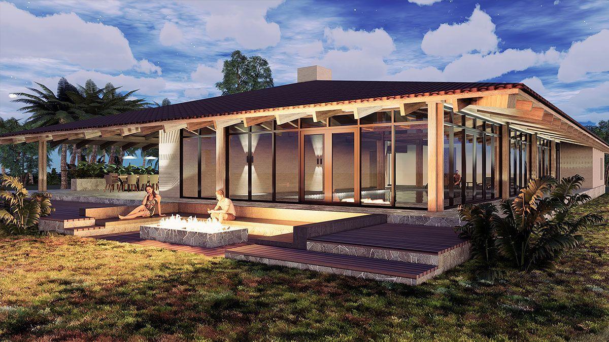 BNLA architecten nieuwbouw villa Punta del Este architect