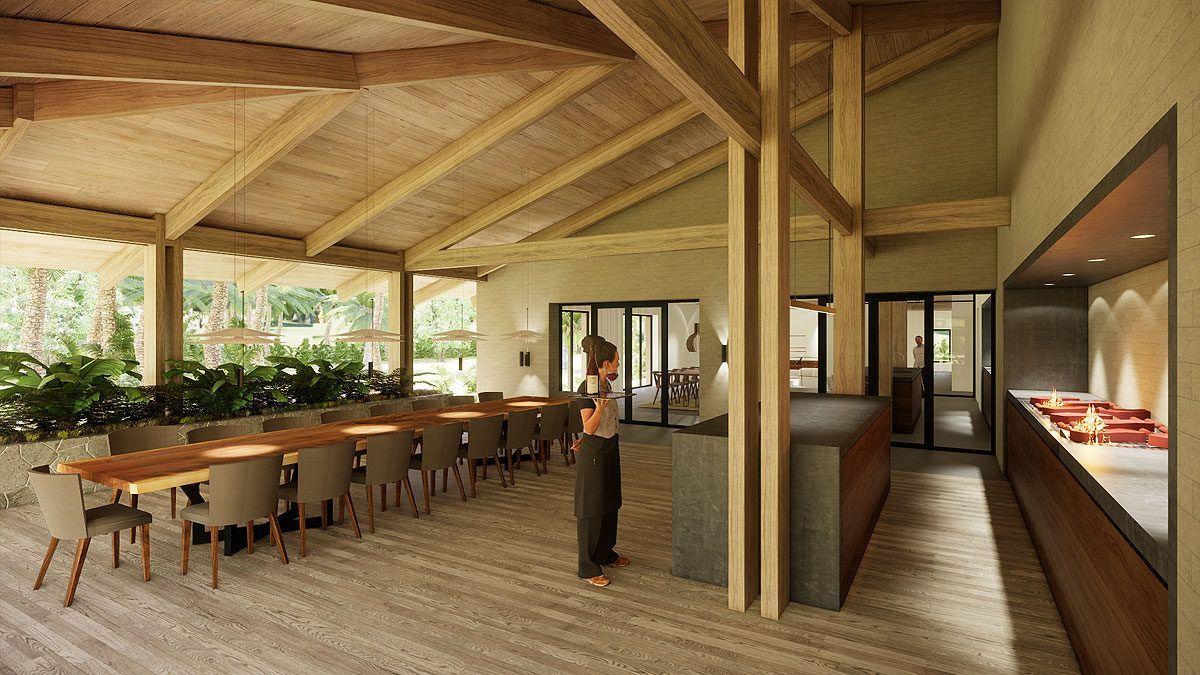 BNLA architecten ontwerp tuinhuis vakantiehuis urugay