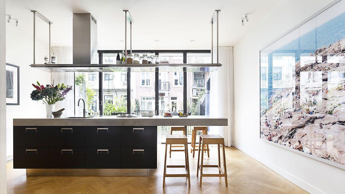 BNLA architecten verbouwing luxe herenhuis Amsterdam oud zuid