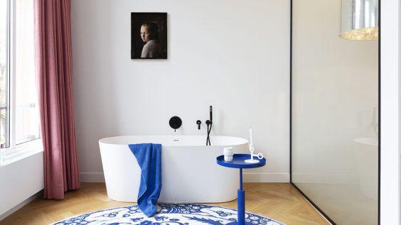 BNLA architecten verbouwing luxe herenhuis Amsterdam. Voorbeeld van interieur.