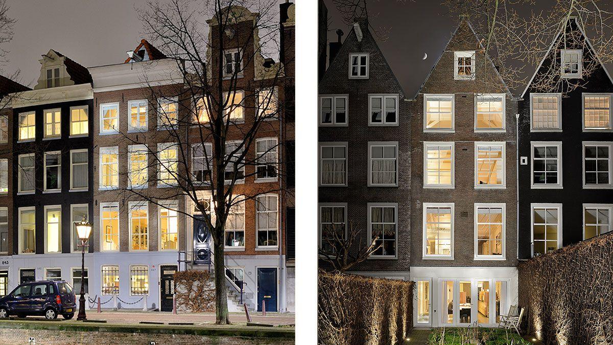 BNLA architecten architect ontwerp monumentaal grachtenpand