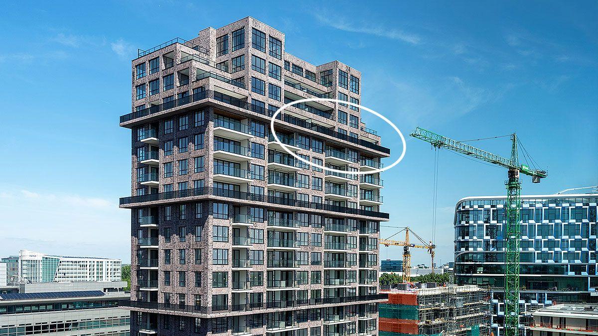 BNLA architecten penthouse woontoren amsterdam