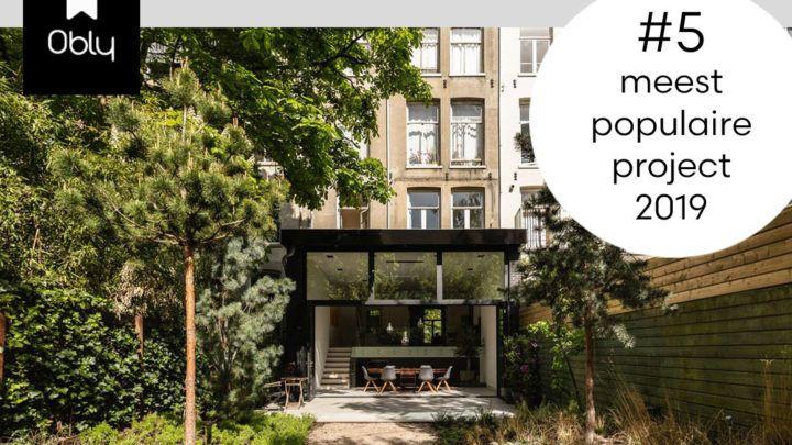 Architectuur & interieur platform Obly beloont de 'mondaine stadswoning' van BNLA architecten in de terugblik op 2019 met een vijfde plek van de meest populaire projecten!