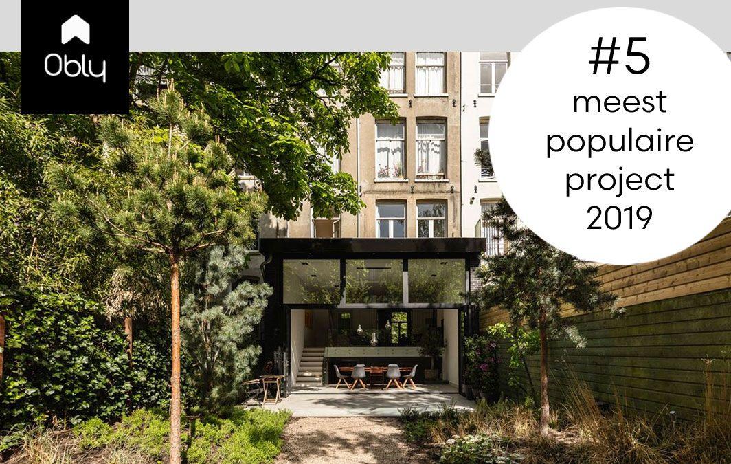 BNLA architecten populair project 2019 mondain familiehuis amsterdam ontwerp