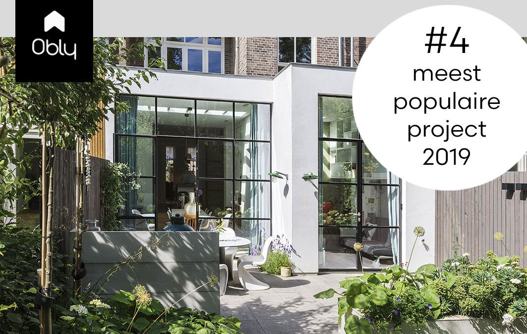 BNLA architecten populair project 2019 uitbouw aanbouw Amsterdam interieur architect ontwerp