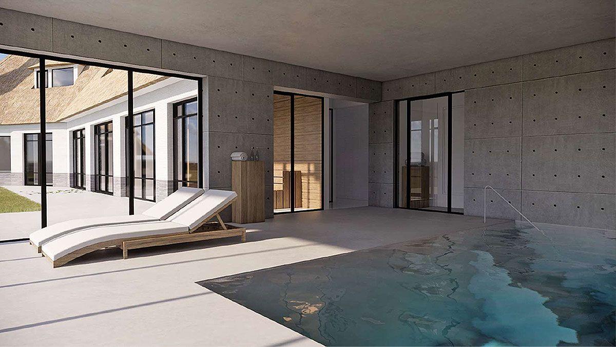 BNLA-architecten-uitbouw-buitenhuis-met-zwembad-en-wellness-bergen