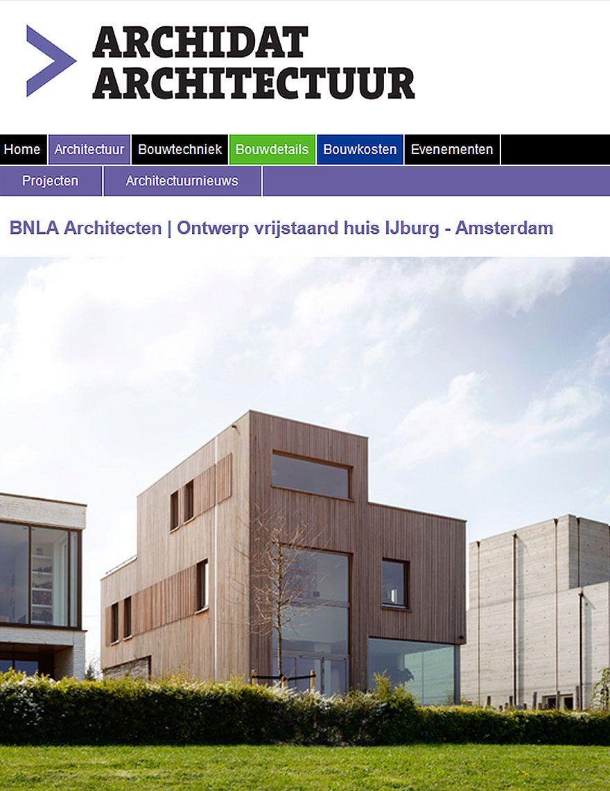 BNLA architecten publicatie architectuur platform