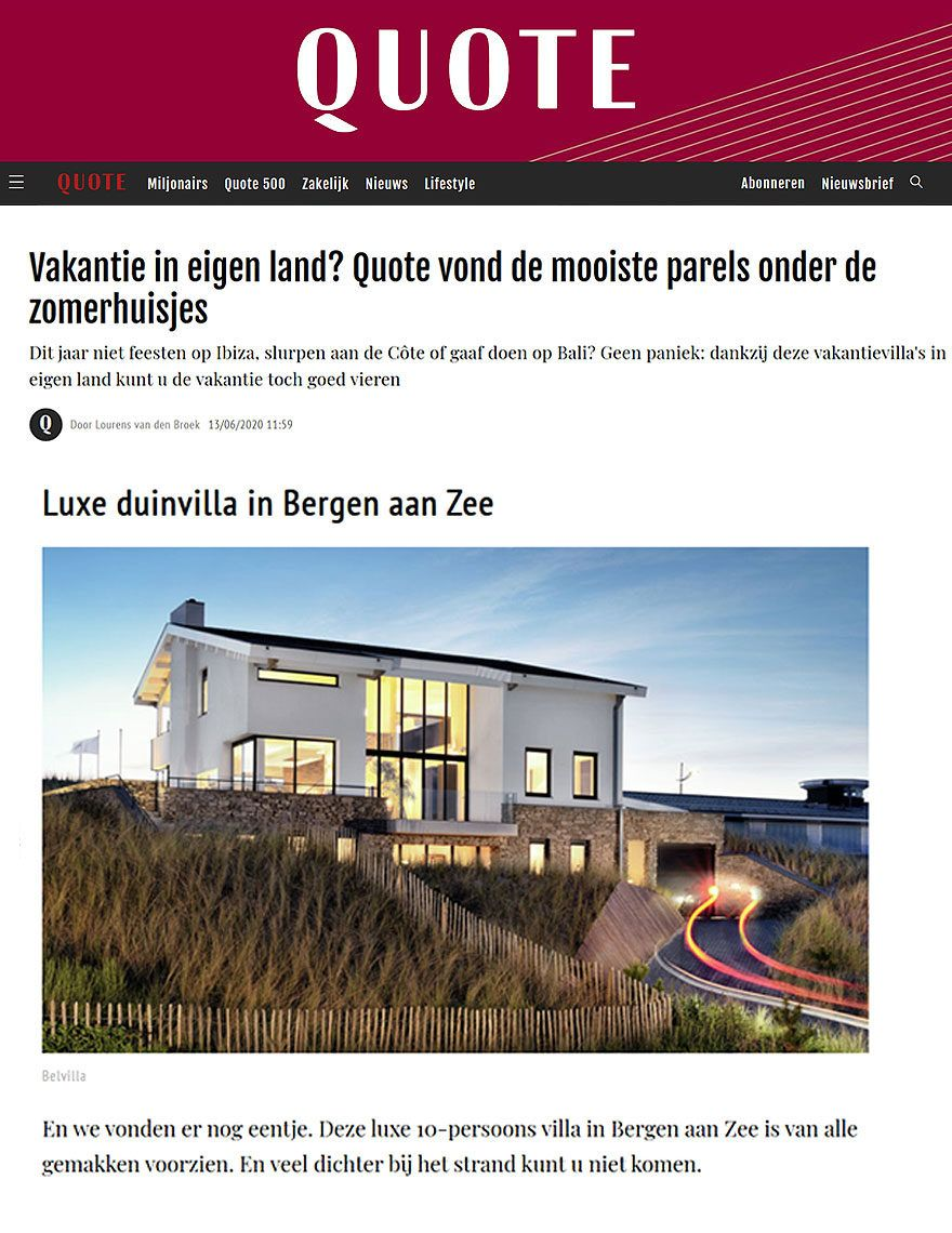 BNLA architecten Quote