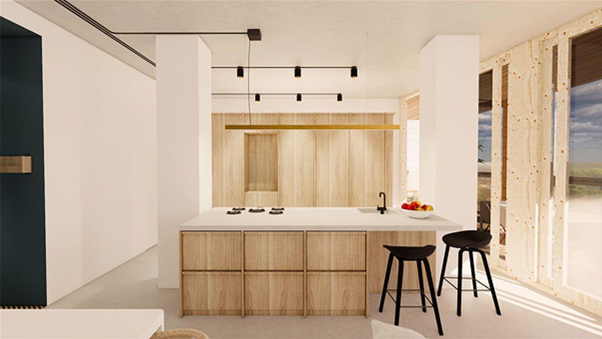 BNLA-architecten-ontwerp-keuken-appartement-architect-Amsterdam