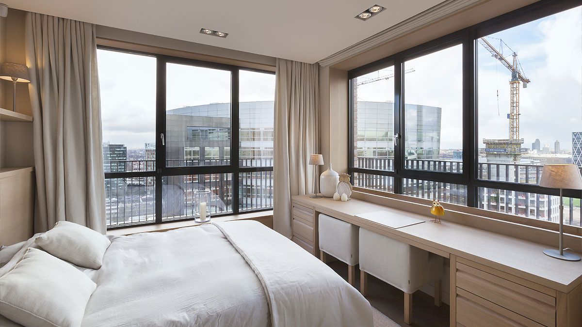 BNLA-architecten-appartement-woontoren-zuidas-amsterdam-uitzicht