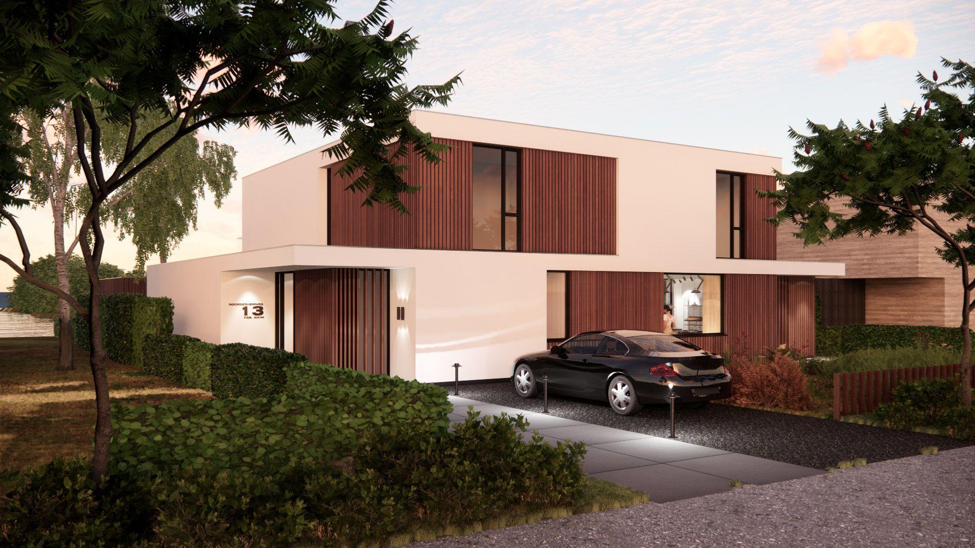BNLA-architecten-luxe-villa-stucwerk-hout-duurzaam